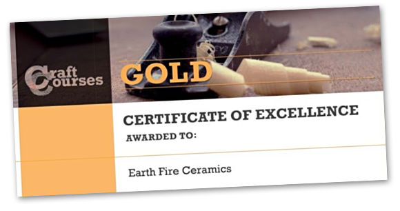 Craft Courses Gold Certificate